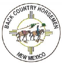 backcountry horsemn NM logo