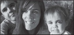 tisha and kids 250x118